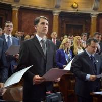 Polaganje zakletve u Narodnoj skupštini (16.04.2014.)