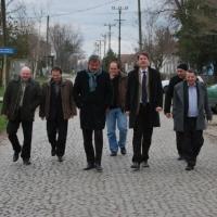 A magyarországi vidékfejlesztési államtitkárral Tordán (2014. március)